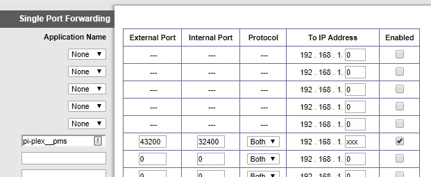 Cisco Port Forward